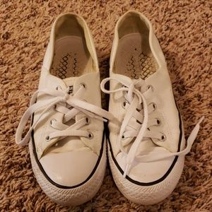 Converse All-Star white shoes
